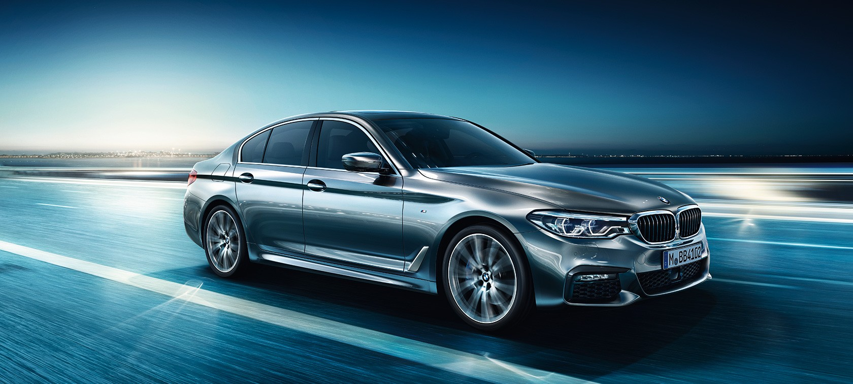 The all new bmw 5 series