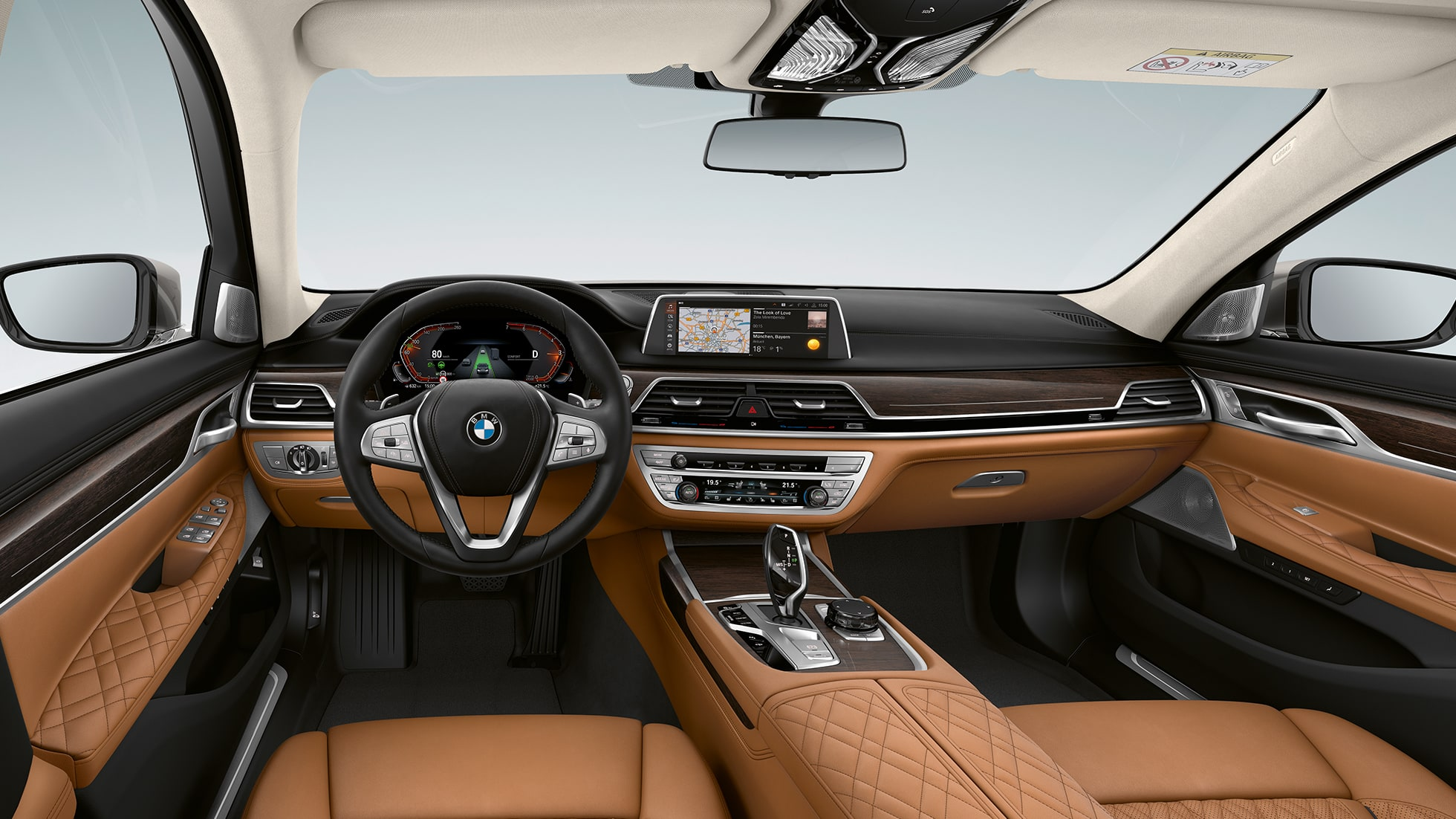 BMW 7 Series Sedan with Exterior Design Pure Excellence Interior G11