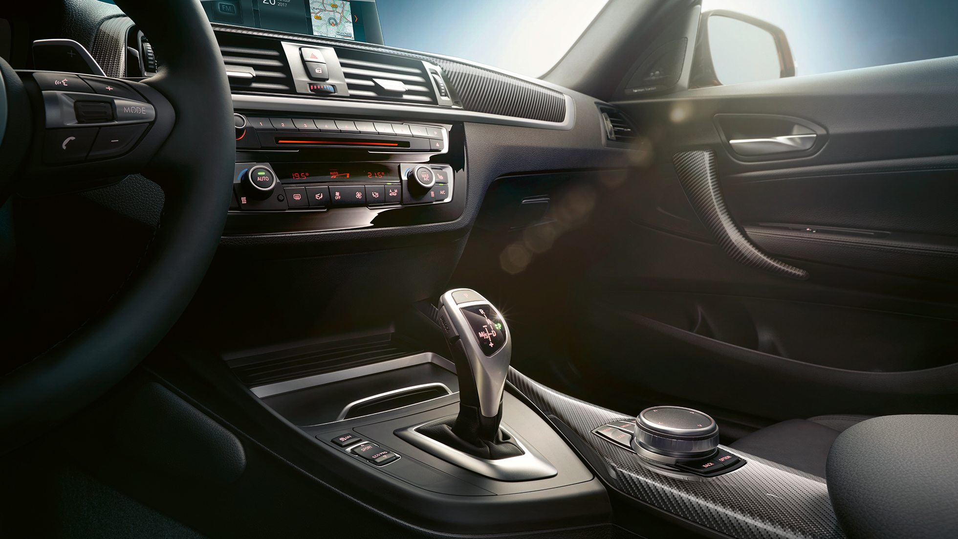 Gear lever BMW M240i Coupé F22 2017 interior